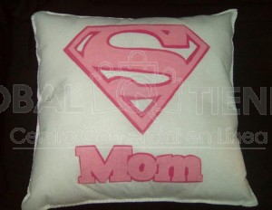 cojin Super mom